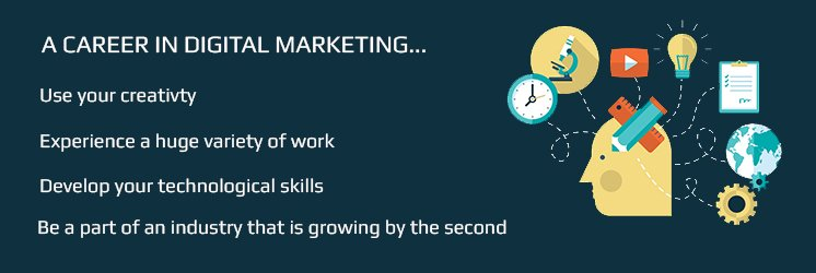 Benefit from a digital marketing career