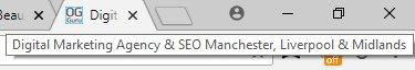 Digital Marketing Agency Title Tag