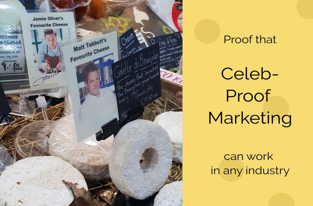 Cheesefest Celeb Marketing