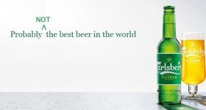 Carlsberg Campaign – Not the best beer in the world