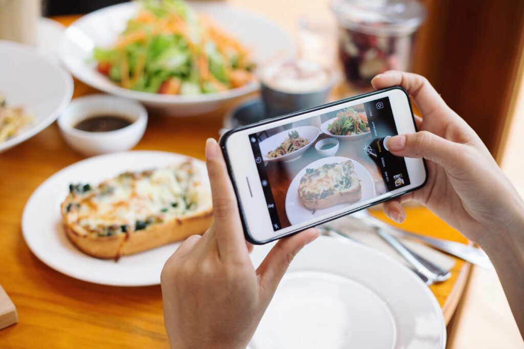 Restaurant Food Imagery for Social Media