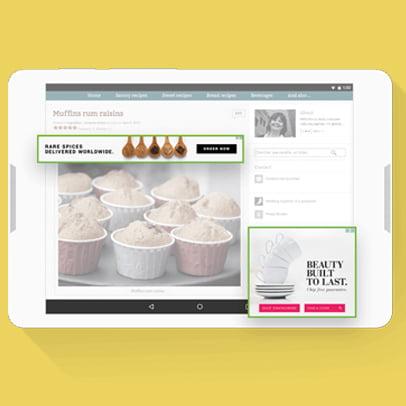 Display Food Marketing Google Ads
