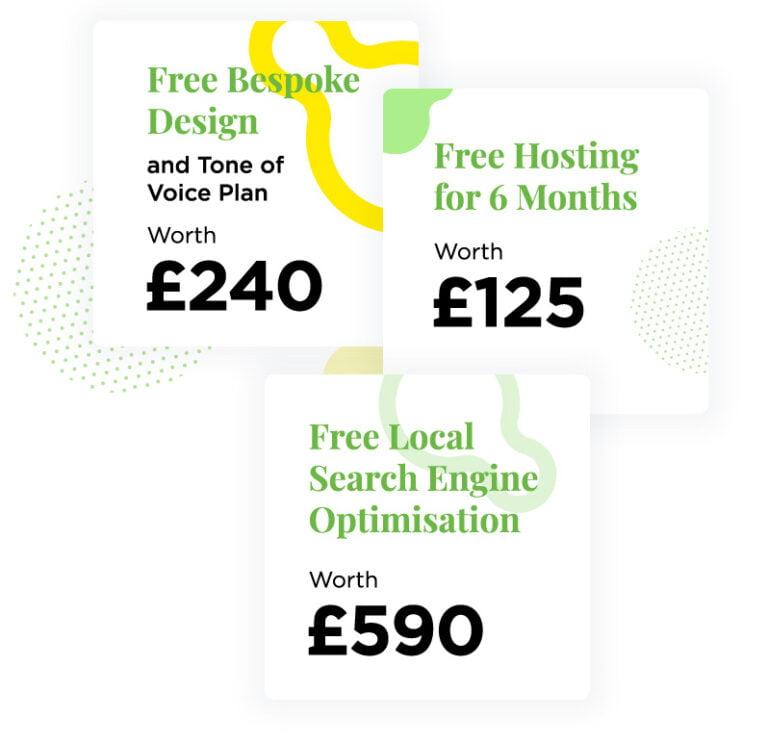 OGG Website Design Price Discounts for Restaurants