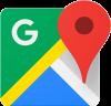 List restaurant in google-maps-logo